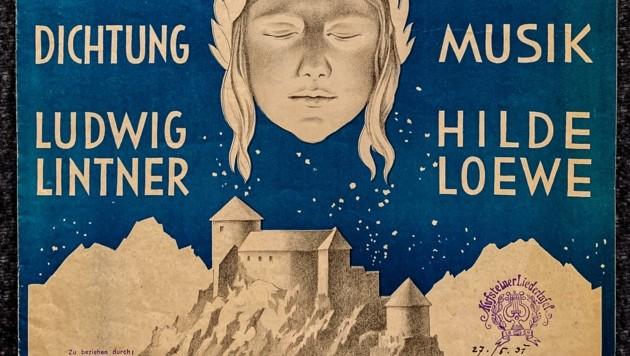 Die Original Broschüre zur Einweihung der Heldenorgel. (Bild: Berger Hubert)