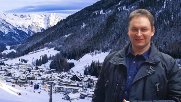 Adrian Lukas jobbte in Sankt Anton am Arlberg. Seitdem fehlt von ihm jede Spur. (Bild: stock.adobe.com, zVg, Krone KREATIV)