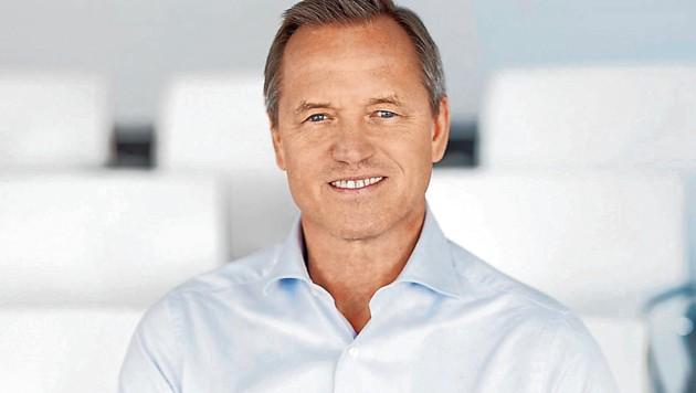 Robin Rumler, Geschäftsführer der Pfizer Corporation Austria (Bild: maupi/Chris Saupper)