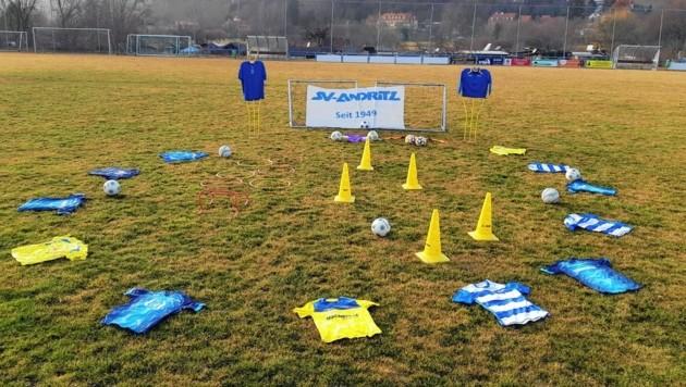 """Auch der SV Andritz beteiligte sich an der Aktion """"Kinder brauchen Sport"""". (Bild: SV Andritz)"""