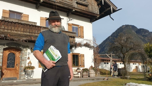 Alfred Enthofer war 24 Jahre Bauernobmann in Strass. Jetzt tritt er gegen den Bauernbund an. (Bild: Moser Andreas)