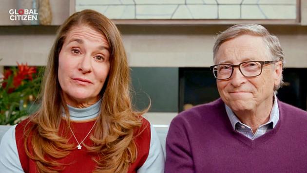 Bill and Melinda Gates (Bild: Getty Images via AFP)