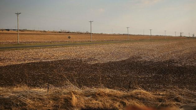 Farmland in den USA (Bild: Getty Images via AFP)