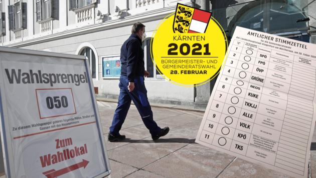 In der Landeshauptstadt Klagenfurt zeichnet sich eine Stichwahl ab (Bild: APA)