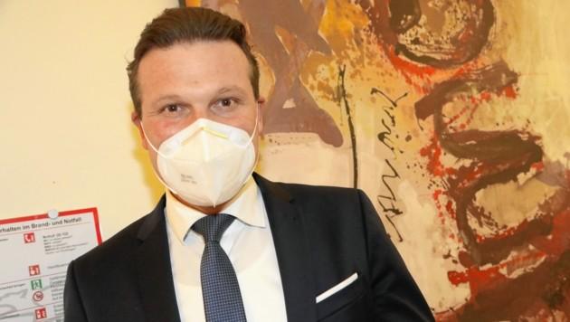 Wolfgang Germ (FPÖ) tritt als Stadtparteiobmann zurück. (Bild: Rojsek-Wiedergut Uta)