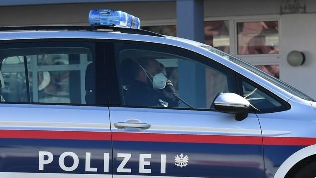 Die Polizei musste anrücken (Symbolbild) (Bild: P. Huber)