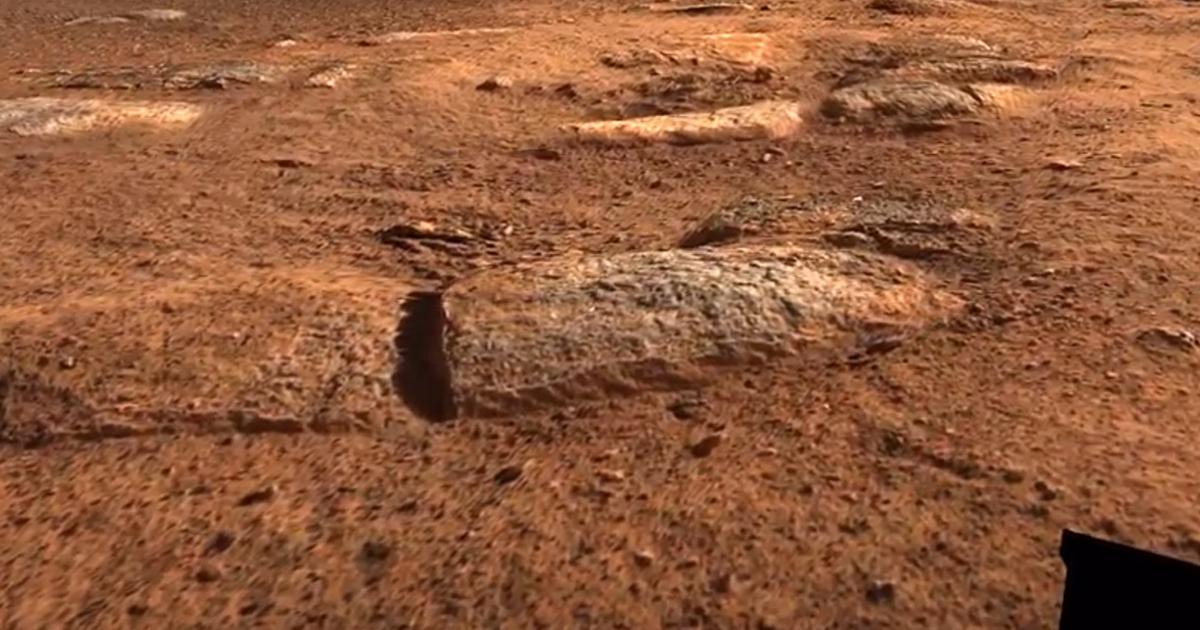 Bilder vom Landeplatz - Austro-Forscher erstellen 3D-Mars-Überflugsvideo - Krone.at