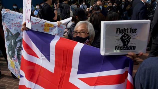Die frühere britische Kolonie Hongkong wurde 1997 an China übergeben. Damals wurden ihr für 50 Jahre Sonderrechte gewährt. Peking versucht, diese Freiheiten auszuhöhlen. (Bild: AP)