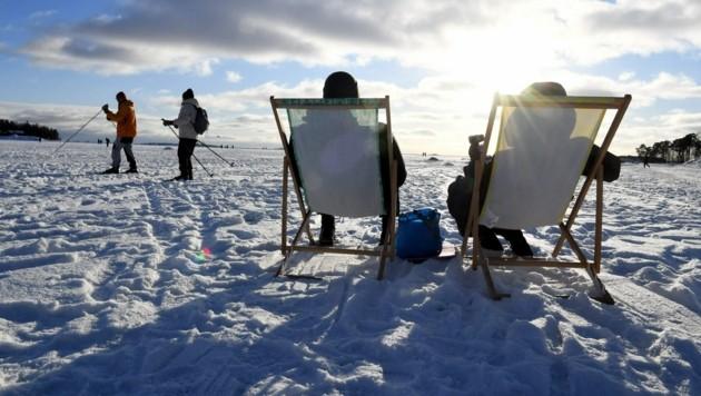 (Bild: Jussi Nukari / Lehtikuva / AFP) / Finland OUT)