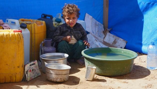 Besonders Kinder sind von der humanitären Katastrophe im Jemen betroffen. (Bild: AFP/Nabil ALAWZARI)
