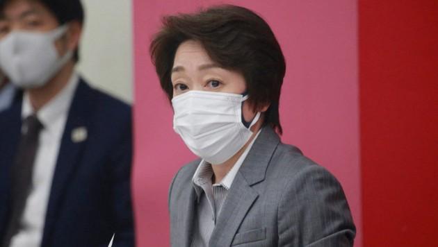 Neue OK-Chefin Seiko Hashimoto (Bild: AFP/Koji Sasahara)