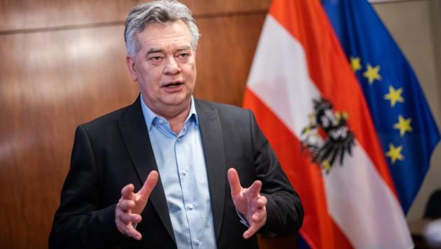 Sportminister Kogler (Bild: APA/Georg Hochmuth)