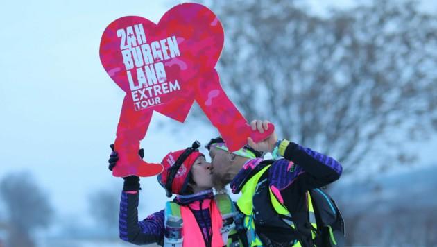 So wie früher soll die Tour rund um den Neusiedler See wieder in der kalten Jahreszeit stattfinden. (Bild: Verein 24 Stunden Burgenland)