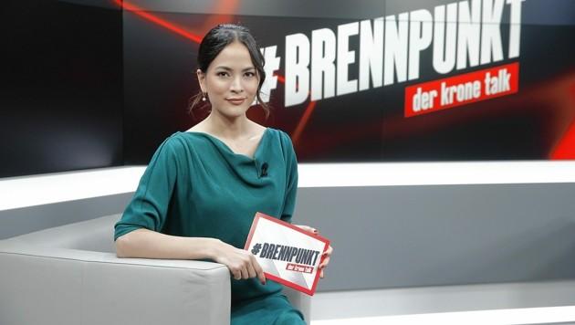 Moderatorin Katia Wagner (Bild: Reinhard Holl)