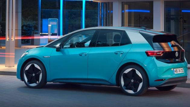"""Der ID.3 wird """"Over the air"""" mit Updates versorgt. (Bild: Volkswagen AG)"""