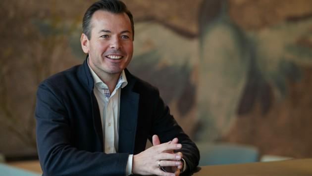 Christian Wimberger beschäftigt bereits 700 Mitarbeiter. (Bild: Markus Wenzel)