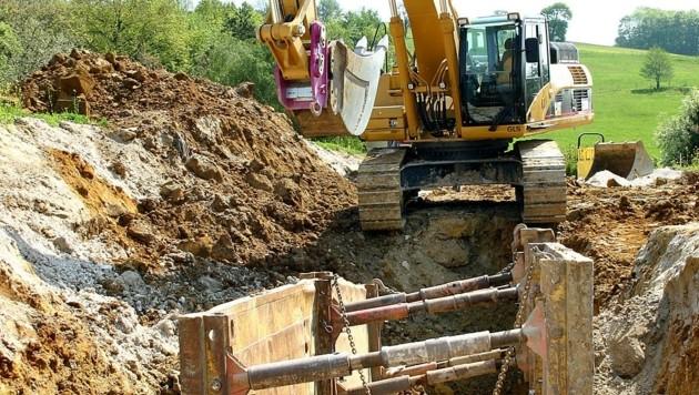 In Waidhofen an der Thaya sorgt ein Kanalprojekt für große Unstimmigkeiten. (Bild: Franz CREPAZ)