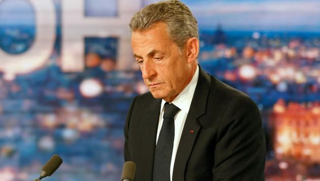 Nicolas Sarkozy geht gegen seine Verurteilung in Berufung. (Bild: APA/AFP/Ludovic MARIN)