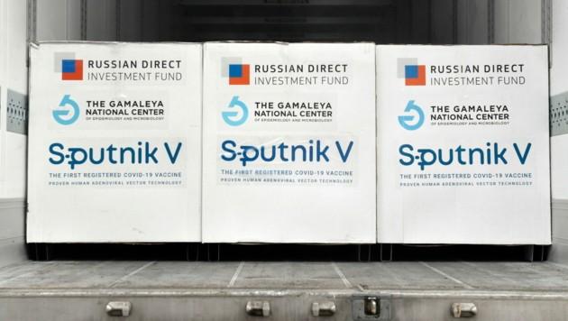 """Ungarn setzt bereits auf den russischen Covid-Impfstoff """"Sputnik V"""". (Bild: AP)"""