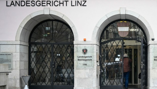 Landesgericht Linz (Bild: Alexander Schwarzl)
