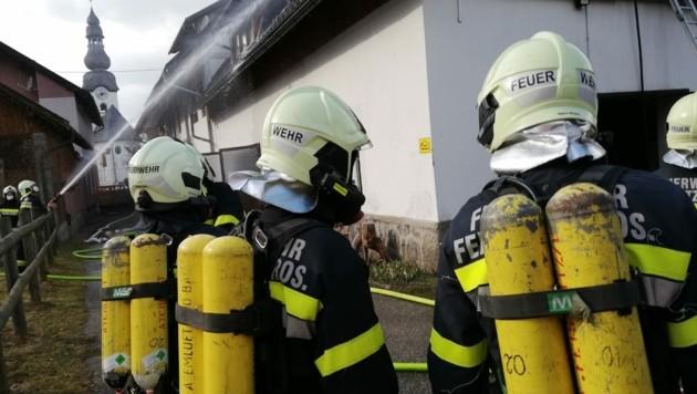 (Bild: Feuerwehr St. Jakob im Rosental)