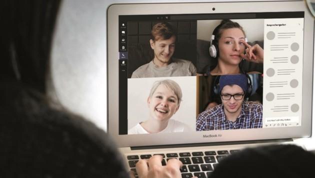 Angehende Studenten können sich online informieren. (Bild: FH Burgenland)