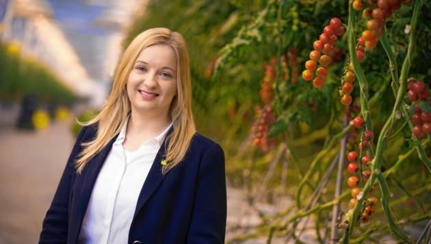 Frutura-Chefin Katrin Hohensinner (Bild: Philip Platzer)