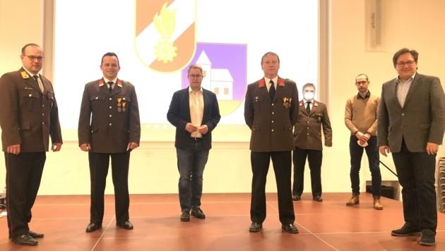 Der am längsten dienende Kommandant im Land, Robert Stadler aus Halbturn, wurde wieder gewählt. (Bild: Gemeinde Halbturn)