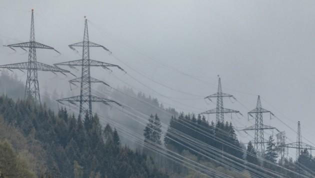 Die APG saniert Stromleitungen im Pinzgau – hier in Kaprun. (Bild: EXPA/ JFK)