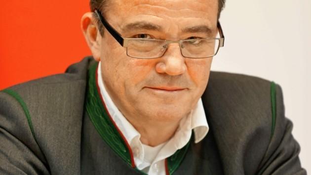 Christian Pewny, FPÖ-Bürgermeister in Radstadt (Bild: Markus Tschepp)