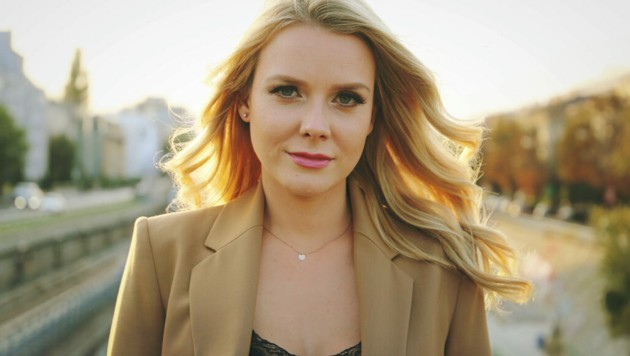 krone.tv-Moderatorin Raphaela Scharf (Bild: Jerzy Karpinski)