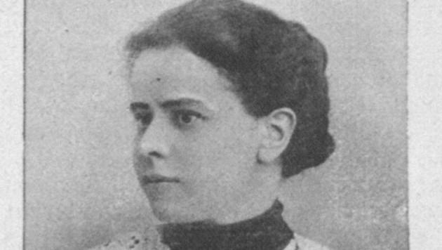 Erste Studentin: A. Schneller. (Bild: Repro/Österreichische Illustrierten Zeitung)