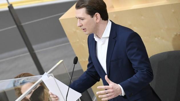 Bundeskanzler Sebastian Kurz (ÖVP) (Bild: APA/ROBERT JAEGER)