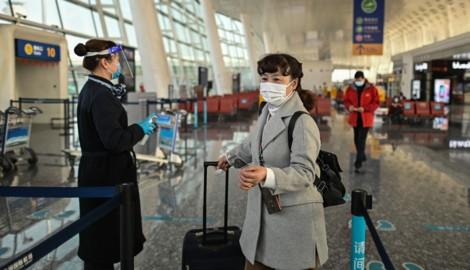 China hat einen digitalen Corona-Impfausweis für Reisende eingeführt. (Bild: AFP)