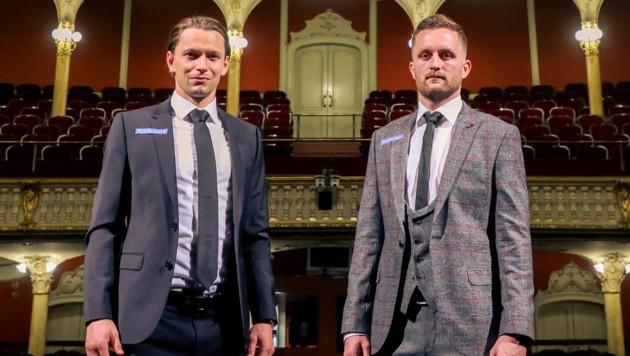 Stefan Hierländer und Jakob Jantscher (Bild: GEPA/Christian Walgram)