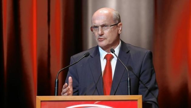 Muss Plan B ausrufen: Verbandschef Bartosch. (Bild: GEPA pictures)