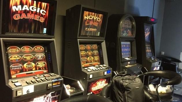 Diese Glücksspielautomaten wurden beschlagnahmt (Bild: BMF)