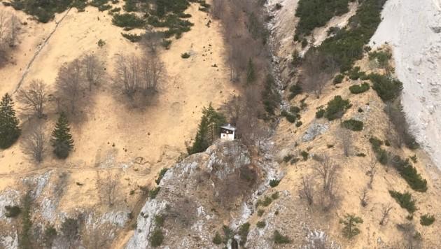 Zur kleinen Buchtaler Hütte im Karwendel wollte der Absamer aufbrechen. Dort kam er jedoch nicht an. (Bild: ZOOM.TIROL)