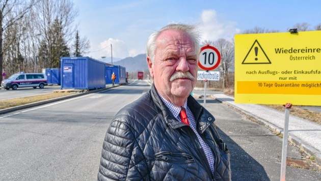 """""""Jetzt ist Solidarität und keine Polemik gefragt"""", lässt Georg Aicher-Hechenberger, Bürgermeister von Erl, verlauten. (Bild: Hubert Berger)"""