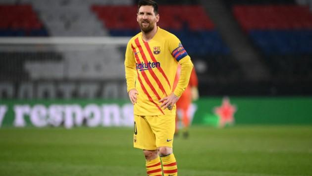 Wie lange trägt Lionel Messi noch den Dress des FC Barcelona? (Bild: APA/AFP/FRANCK FIFE)