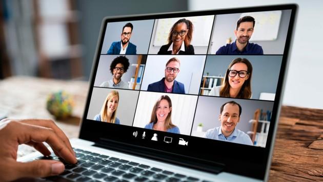 Videokonferenzen und Telearbeit haben vor allem in großen Unternehmen Einzug gehalten. (Bild: Andrey Popov/stock.adobe.com)