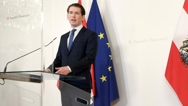 Bundeskanzler Kurz (Bild: APA/Roland Schlager)