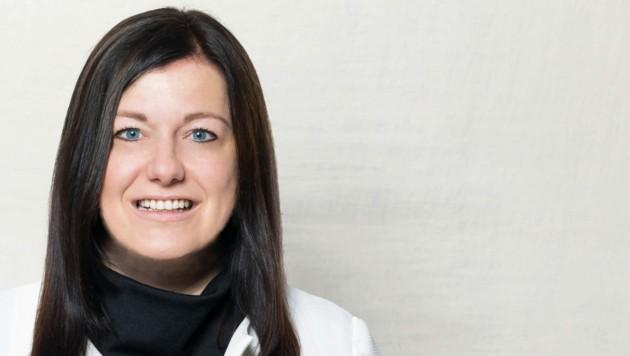 Die neue ÖVP-Landtagsabgeordnete Sybille Prähofer (Bild: Michael Germann)