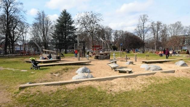 Am Samstag war der Kinderspielgarten bestens besucht. (Bild: © Elmar Gubisch)
