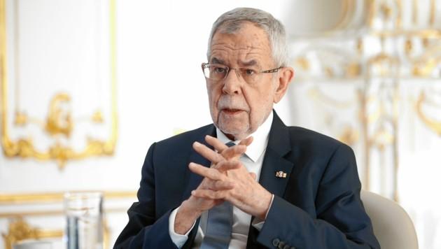 Bundespräsident Alexander Van der Bellen (Bild: Reinhard Holl)