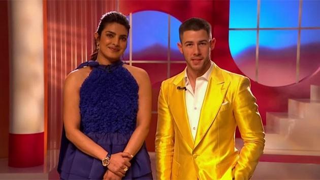 Priyanka Chopra Jonas und ihrem Ehemann, Sänger Nick Jonas, geben in London die Nominierten für die 93. Oscar-Verleihung bekannt. (Bild: https://www.oscars.org/)