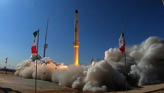 """Militärische Muskelspiele - der Iran verkündet eine neue """"Raketenstadt"""" und erhöht den Druck auf die USA. (Bild: AFP/IRANIAN DEFENCE MINISTRY)"""