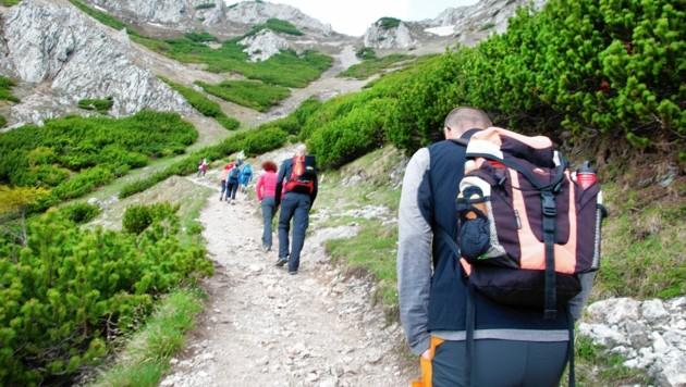 Steirische Berge wie die Rax werden seit Corona regelrecht gestürmt. (Bild: Seebacher Doris)