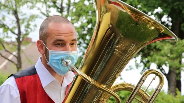 Freies Musizieren ist in Coronazeiten nicht erlaubt. Auf baldige Auftritte wird gehofft. (Bild: Hronek Eveline)