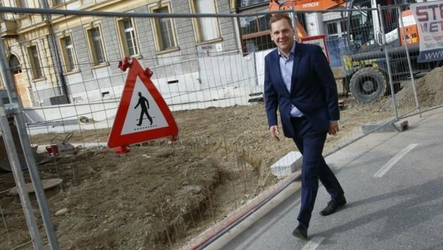 Nationalrat Philip Kucher muss nun die Großbaustelle der Klagenfurter SPÖ übernehmen. (Bild: Rojsek-Wiedergut Uta)